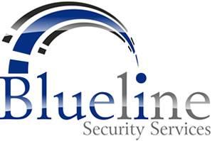 Blue line logo